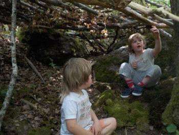 Cabanes, bulles et petits nids douillets